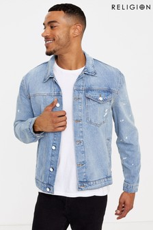 Religion Blitz Denim Jacket