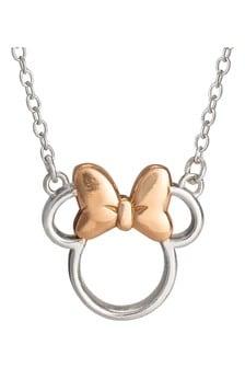 Disney Mickey & Minnie Necklace