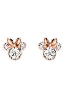 Disney Mickey & Minnie Brass Earrings