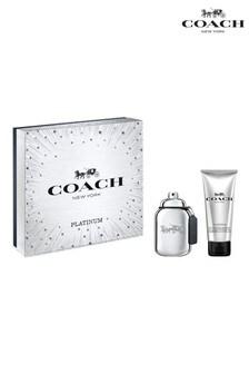 COACH For Men Platinum Eau de Parfum 60ml and Showergel 100ml