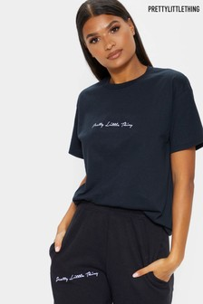 PrettyLittleThing Slogan T-shirt