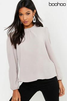 Boohoo Long Sleeve Blouse