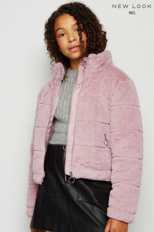New Look Girls Textured Padded Jacket