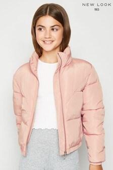 New Look Girls Op Drake Padded Jacket