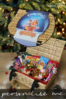 Personalised Christmas Sweets Hamper By Great Gifts