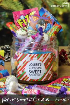 Personalised Christmas Taster Jar By Great Gifts
