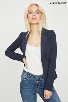 Vero Moda Slim Fit Jersey Blazer