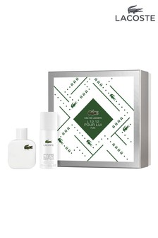 Lacoste Male Blanc Eau De Toilette 50ml  Gift Set
