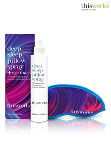 This Works Deep Sleep Pillow Spray 250ml and Eye Mask
