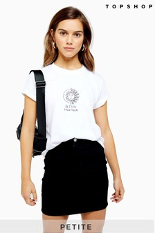 Topshop Petite Better Together Tee