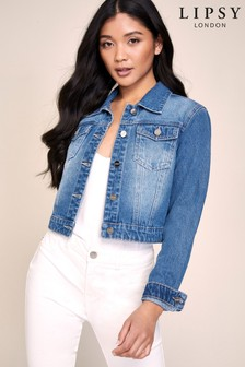 Lipsy Crop Denim Jacket