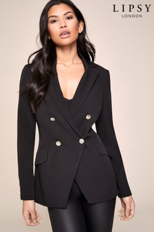 Lipsy Cut Away Longline Blazer