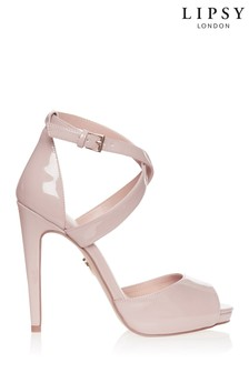 Lipsy Cross Over Concealed Platform Heels