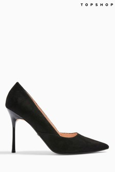 Topshop Georgia Pointed Court Shoes
