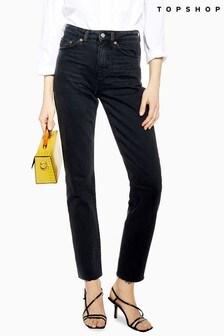 "Topshop Straight Jean 30"" Leg"