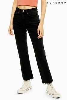 "Topshop Straight Jean 32"" Leg"
