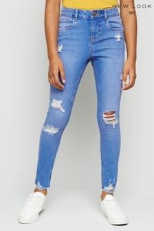 New Look Girls Jasmine Ripped Skinny Jeans