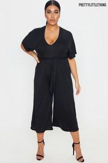 PrettyLittleThing Curve Culotte Jumpsuit