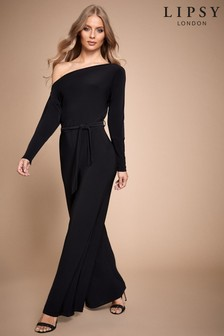Lipsy Sinky Slash Neck Jumpsuit