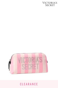 Victoria's Secret Signature Stripe Beauty Bag