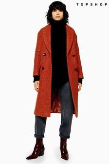 Topshop Kim Boucle Coat