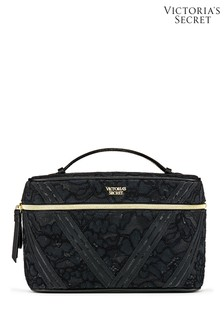 Victoria's Secret Floral Lace Runway Train Case