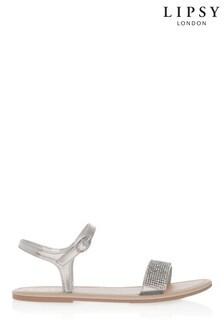 Lipsy Girl Diamanté Sandal