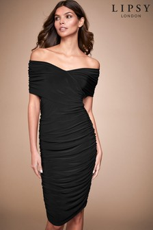 Lipsy Slinky Bardot Dress