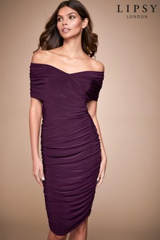 Lipsy Slinky Bardot Dress