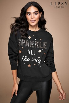 Lipsy Sparkle Christmas Sweater