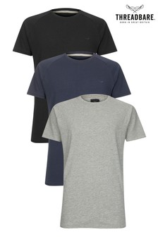 Threadbare Crew Neck T-Shirt -  Pack of 3