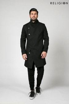 Religion Military Overcoat