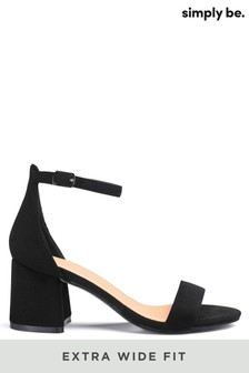Simply Be Extra Wide Fit Block Heels