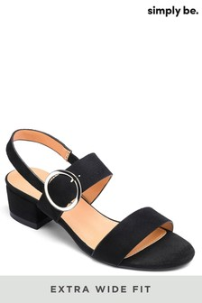 Simply Be Extra Wide Fit Sandals
