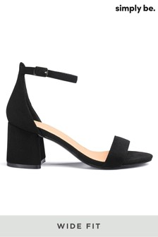 Simply Be Wide Fit Block Heels