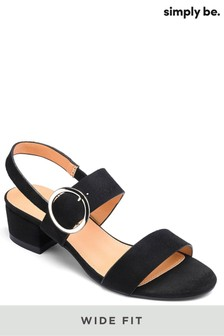 Simply Be Wide Fit Sandals