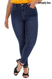Simply Be Chloe High Waist Skinny Jeans