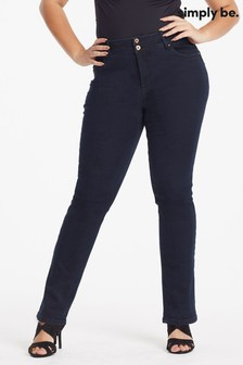 Simply Be Shape And Sculpt Straight Leg Jeans