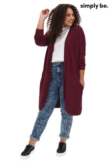 Simply Be Kangaroo Cardigan