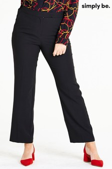 Simply Be Essential Straight Leg Trousers
