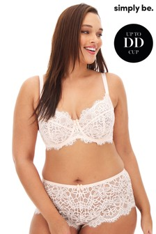 Simply Be Lace Full Cup Wired Bra