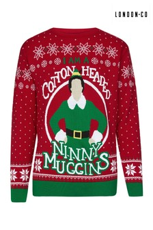 London Co Knitted Christmas Jumper