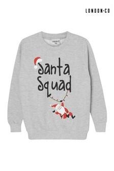 London Co Santa Squad Jumper