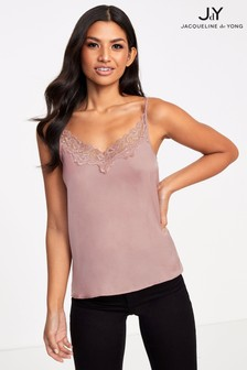 JDY Lace Insert Cami Top