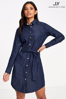 JDY Chambray Shirt Dress