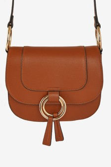 Dorothy Perkins Ring Saddle Cross Body Bag
