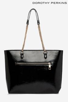 Dorothy Perkins Zip Front Shopper Bag