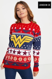 London Co Licenced Ladies Wonder Woman Pullover