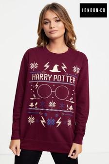London Co Ladies Weihnachtliches Sweatshirt