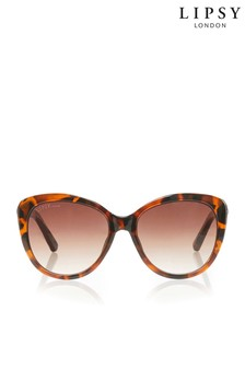 Lipsy Cat Eye Diamanté Sunglasses